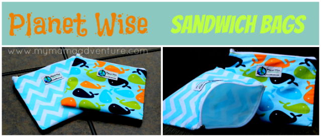 Planet Wise Sandwich Bags - Perfect for snacks and sandwiches! - My Mama Adventure