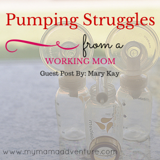 Pumping Struggles from a Working Mom - My Mama Adventure #breastfeeding #pumping