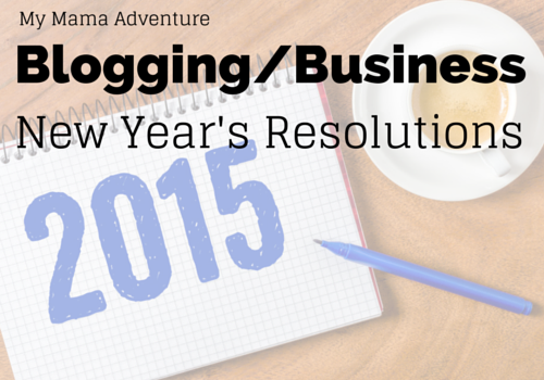 Blogging-Business New Year's Resolutions